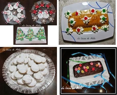 4  recetas para estos días de Navidad