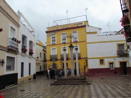 Casco antiguo de Sevilla, España