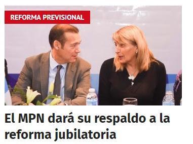 El MPN dará su respaldo a la reforma jubilatoria