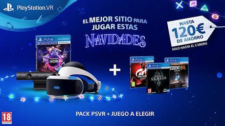 PlayStation vuelve a poner en oferta este pack de PlayStation VR