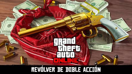Un tesoro en forma de revolver de doble acción os espera en GTA Online