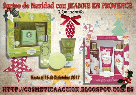 Las Ganadoras de los sorteos navideños de JEANNE EN PROVENCE, JEANNE ARTHES y L'ATELIER DES BOIS DE GRASSE