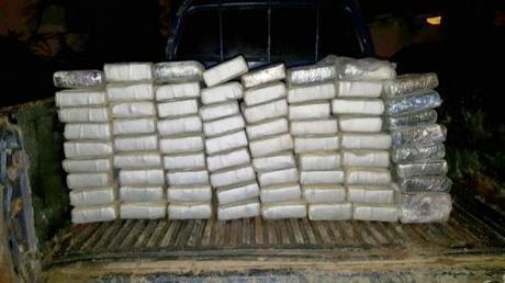 Ocupan 294 paquetes de droga en Puerto Caucedo.
