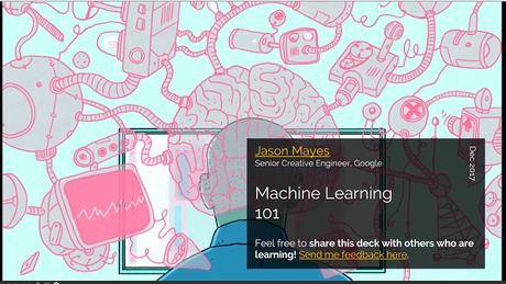 Machine Learning 101, por Jason Mayes @jason_mayes