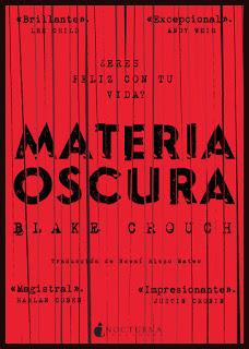 Materia Oscura - Blake Crouch