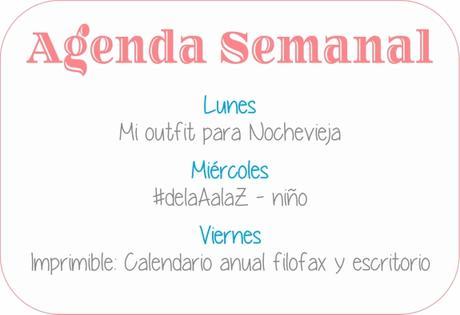 Agenda Semanal 18/12 -24/12