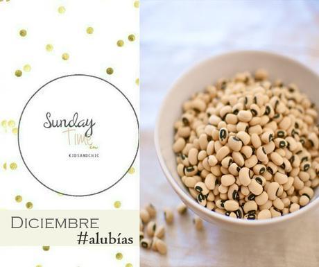 Sunday's Time #RecetasconAlubias
