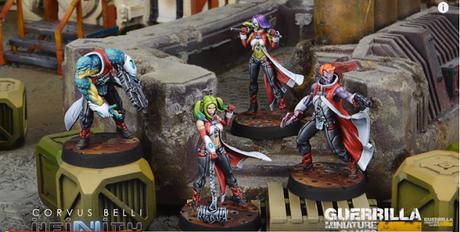 Nueva Der Morlock Gruppe para los Nómadas (Infinity)