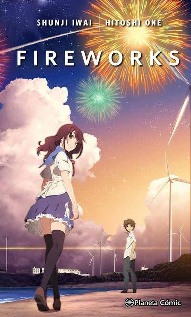 Planeta Cómic añade a su catálogo la novela y el manga de la película 'Fireworks'