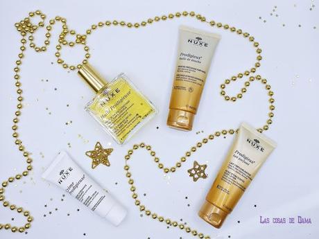 Cofres Navidad Nuxe Coffret Prodigieux regalos belleza beauty farmacia gift set kit