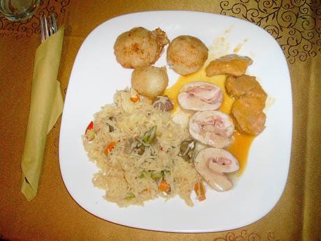 Un plato como para graduarse