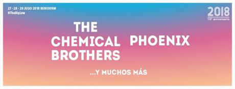 Phoenix se suman a The Chemical Brothers en el Low Festival 2018