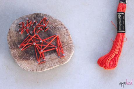 Diy: Reno en madera, String art