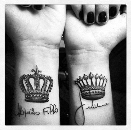 20 Ideas De Tatuajes De Coronas De Reyes Y Reinas Paperblog