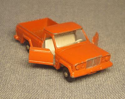 La Jeep Gladiator de Matchbox