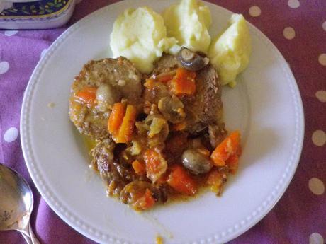 Roti de Carne de ternera.