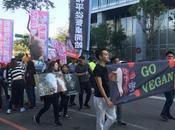 EVENTO: Manifestación veganismo Derechos Animales Taipéi (Taiwán, 2017)