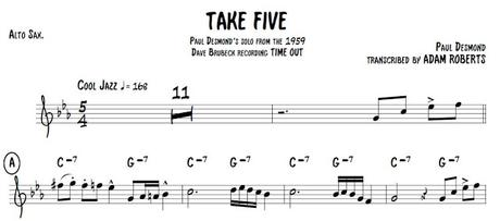 ¡Choca esos cinco, Al!  Análisis de Take Five [Al Jarreau Tribute] by Ximo Tebar Band