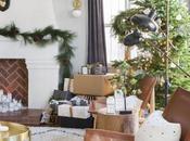 Decoración navideña inspiración nórdica.
