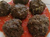 Albóndigas berenjena salsa tomate