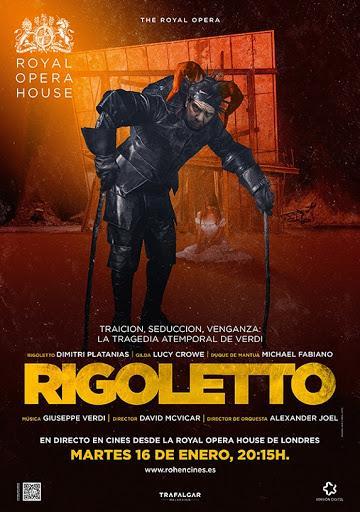 THE ROYAL OPERA HOUSE ABRE EL 16 DE ENERO CON RIGOLETTO