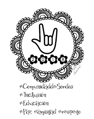 Hoja para colorear 2,018 con Mandala y freebies - Paperblog