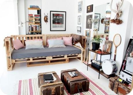 El boom de los muebles de palets