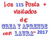 Posts Visitados 2017 Crea aprende Laura