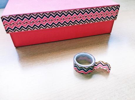 Decorar cajas con washi tape paperblog - Decorar con washi tape ...