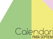 Calendario Septiembre 2016