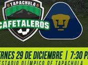 Cafetaleros Tapachula Pumas Vivo Partido Amistoso Viernes Diciembre 2017
