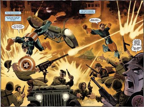 Comic Review – Capitán América: Blanco de Jeph Loeb y Tim Sale