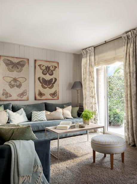 Como decorar la pared de tu sofa paperblog - Decorar pared sofa ...