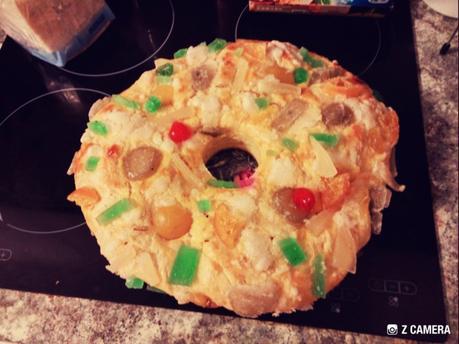Roscón o rosca de Reyes con Thermomix