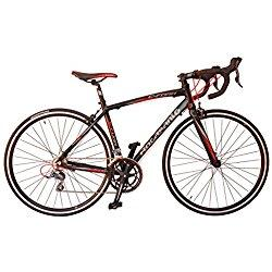 Bicicleta de carretera Rocasanto C-FORK, tamaño ruedas 26, cuadro aluminio color negro