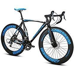 Bicicletas de carretera - Ciclismo Ruta - Speed Race Extrbici XC700 Ciudad / carretera de bicicletas 700C x 70 mm con 14 velocidades de aluminio de marco de frenos mecánicos -SHIMANO Derailleur