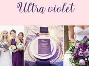 Ultraviolet, color tendencia Pantone para bodas 2018