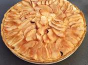Tarta manzana crema pastelera thermomix