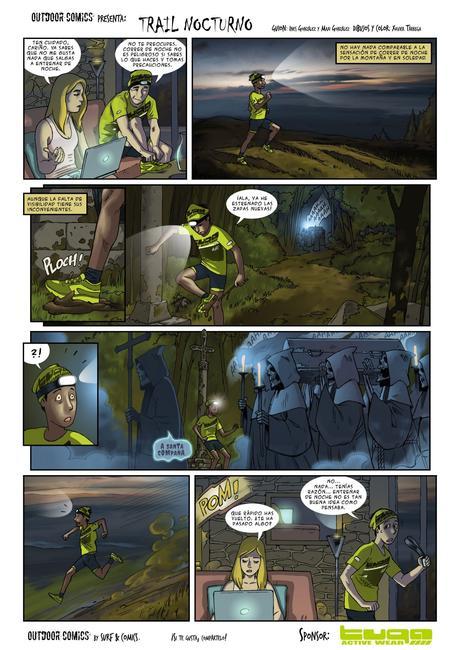 Trail Nocturno   Comic de Humor de Outdoor Comics
