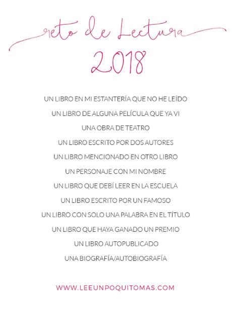 [RETOS LITERARIOS] A los que te puedes unir este 2018