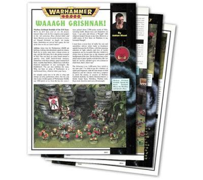 Entrevista a Adrian Wood y mas en Warhammer Community