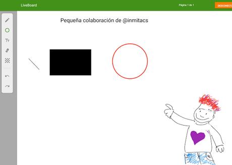 LiveBoard, Pizarra Digital Colaborativa gratuita en tiempo real #Apps #VisualThinking #Designs #DesignsThinking