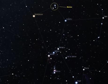 Meissa: La estrella que marcha orgullosa en Orión