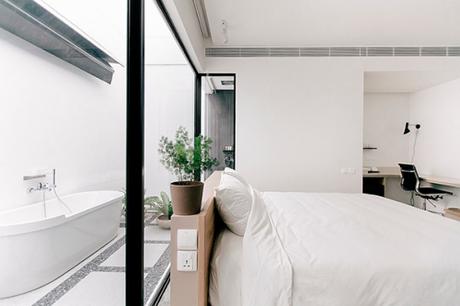 Pureza y serenidad en el diseño de este Hotel en Singapur