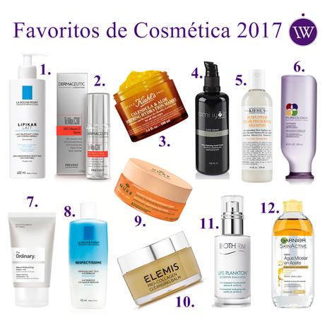 ♥ Mis Productos Favoritos de Cosmética en 2017