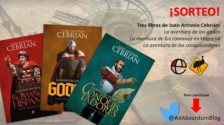 Sorteamos tres libros de Juan Antonio Cebrián