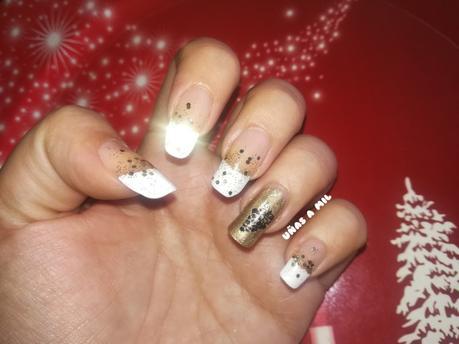 Diseño de uñas para fin de año