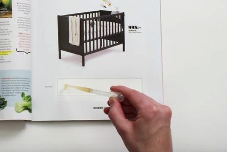 IKEA quiere que mees en este anuncio y, si estás embarazada, te da un descuento para una cuna