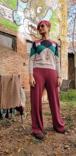 Pantalones lana de Esto no es Ascot