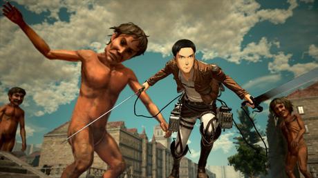 Attack on Titan 2 tendrá modo cooperativo online